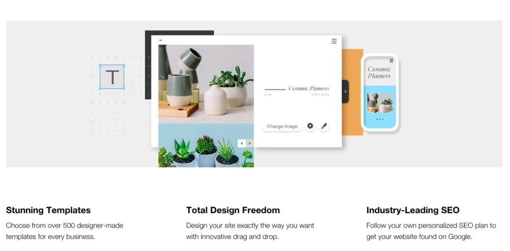 Example professional website